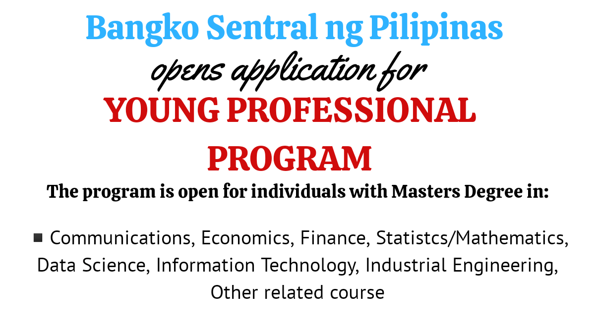 bsp young professional program